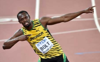 Photo: Usain Bolt: Lightning that struck twice