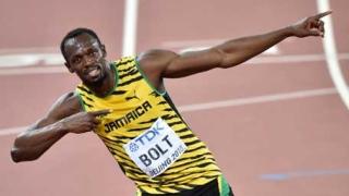 الصورة: Usain Bolt: Lightning that struck twice