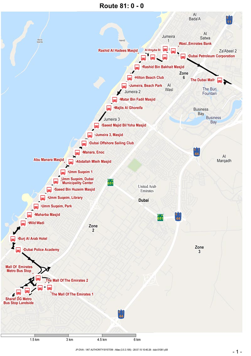 Three New Bus Routes Launched In Dubai Emirates 24 7