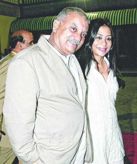 A file picture of Indrani and Peter Mukherjea. (Sanskriti)