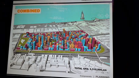 The picture shows the proposed plan for Mall of the World. The company is still working on the masterplan. (Pic: Parag Deulgaonkar)