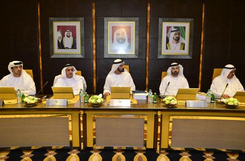 His Highness Sheikh Mohammed bin Rashid Al Maktoum chairs the Cabinet meeting (Wam)
