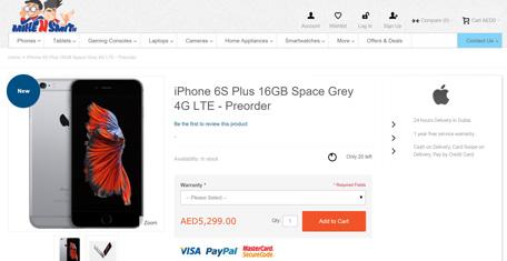 iPhone 6s, 6s Plus UAE pre-orders start @ Dh2,400