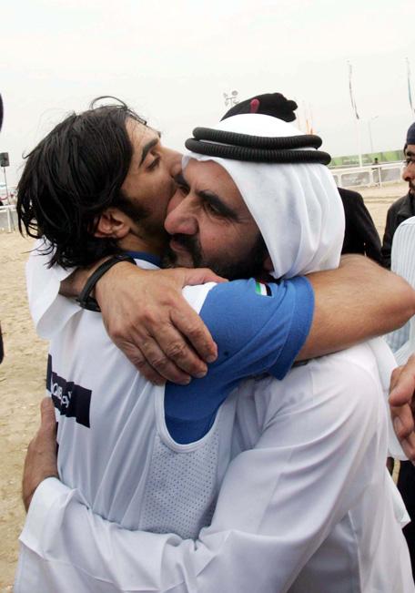 His Highness Sheikh Mohammed bin Rashid Al Maktoum, Vice-President and Prime Minister of the UAE and Ruler of Dubai, and Sheikh Rashid bin Mohammed bin Rashid Al Maktoum (Wam)