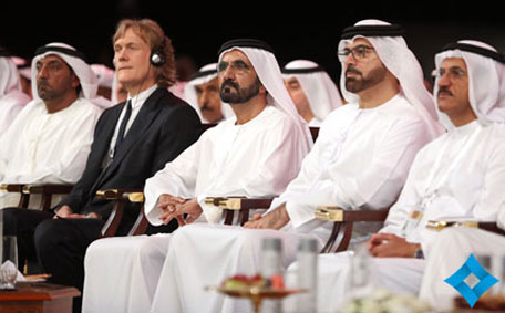 His Highness Sheikh Mohammed at the second edition of the Global Islamic Economy Summit (GIES) in Dubai. (Supplied)