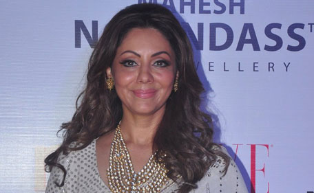 Indian designer Gauri Khan, an entrepreneur and wife of Bollywood superstar Shah Rukh Khan, has unveiled the festive collection at the Mahesh Notandass Fine Jewellery store with style and fanfare. (Sanskriti Media and Entertainment)
