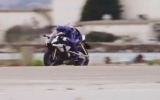 Photo: Yamaha unveils Robot that can ride a motorbike