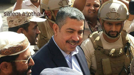Yemeni Vice-President and Prime Minister Khaled Bahah. (Madar Online)