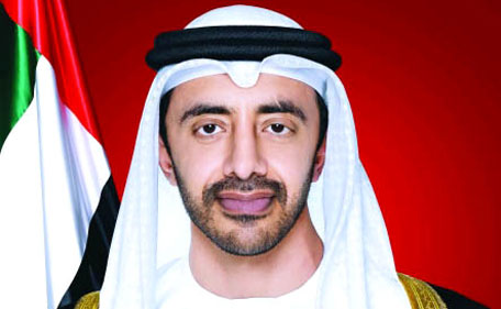 Sheikh Abdullah bin Zayed Al Nahyan, UAE Foreign Minister. (Supplied)