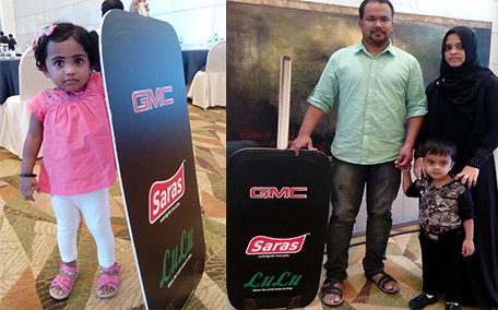 2-year-old Indian girl wins GMC truck in raffle draw