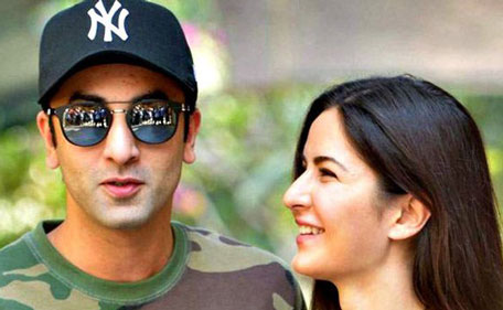 Ranbir Kapoor and Katrina Kaif attend the annual Kapoor Christmas brunch held at Sashi Kapoor's house. (Sanskriti Media and Entertainment)