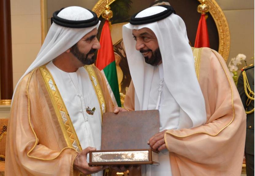 Sheikh Khalifa and Sheikh Mohammed (DMO)
