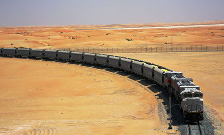 Etihad Rail: Transporting cargo today