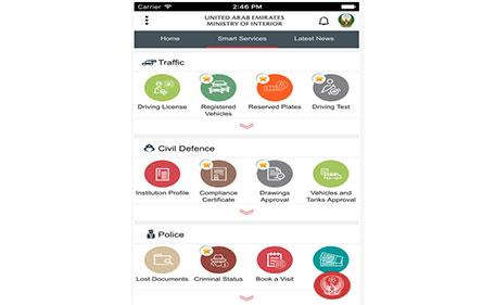 UAE MoI app has instant messaging - Emirates24|7