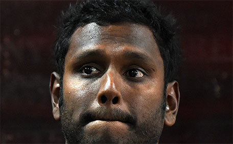 Sri Lanka's cricket captain Angelo Mathews gestures as he addresses a press conference in Colombo on January 13, 2016. (AFP)