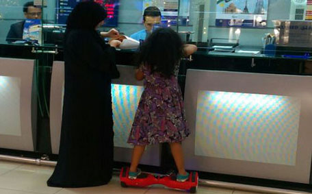 More UAE residents have reported children flaunting their new gizmo. (Sneha May Francis)