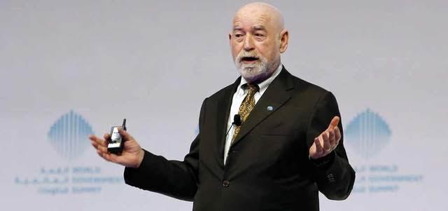 Dr Peter Schwartz. (EAY)