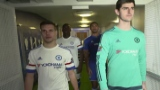 Photo: Chelsea's Lotus-Cheek and Courtois play vs Zouma and Azpilicueta on Fifa