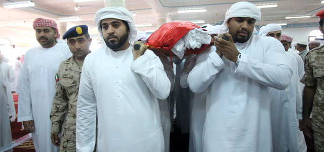 Sheikhs, officials, tribal chiefs, dignitaries, army officers and personnel were present at the funeral. (EAY)