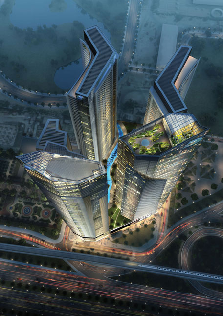 New Luxury Project On Dubai Canal With Car Lifts
