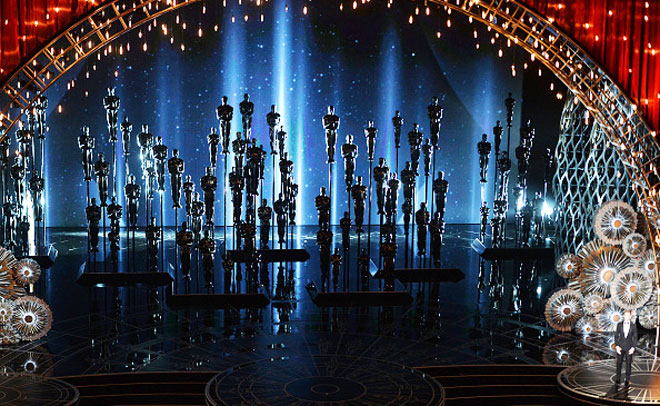 General view of atmosphere during the 87th Annual Academy Awards at Dolby Theatre on February 22, 2015 in Hollywood, California. (Getty images)