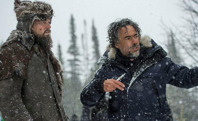 The Oscar for Directing goes to Alejandro González Iñárritu for 'The Revenant'.