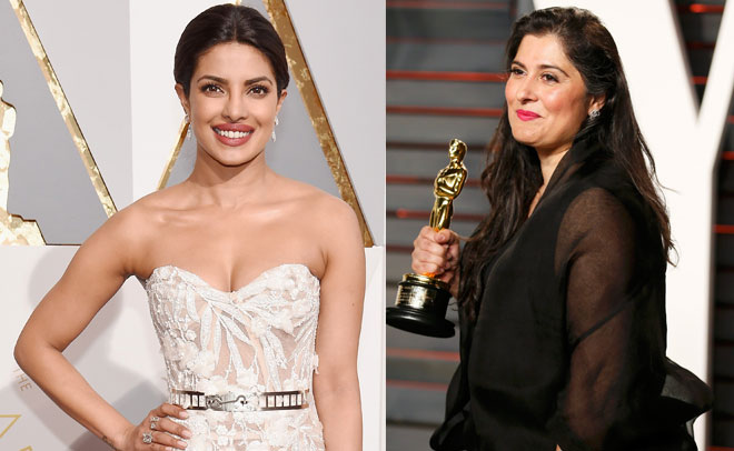 Oscar Match-up: Pakistan's Sharmeen sashays past red-carpet