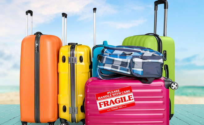 Airport secrets: Does 'fragile' label on luggage help ...