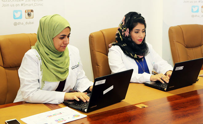 DHA's smart clinic discusses need to have good employee health initiatives in place. (Supplied)