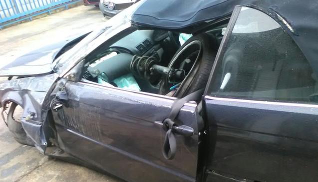 Royal Pirates Car Accident
