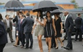 Photo: Obama family begin holiday in southern France