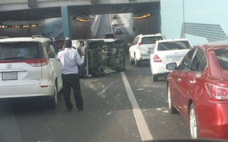 Photo: 2,400 calls, 250 crashes in just 5 hours on first day of Ramadan: Dubai Police
