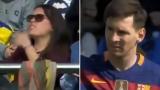 Photo: Wayward Messi strike breaks female fan's arm