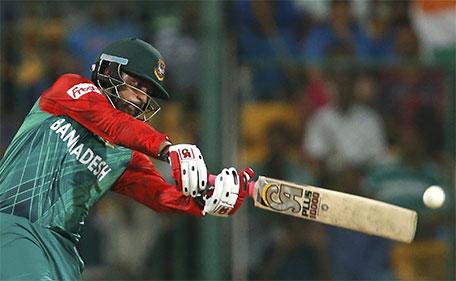 Bangladesh's Tamim Iqbal plays a shot. (Reuters)