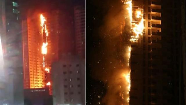 Cause of Ajman fire: Cigarette butt or burning coal