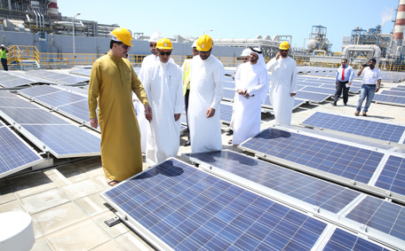 Dubai Gets One Of Largest 1 5mw Roof Top Solar Panels In