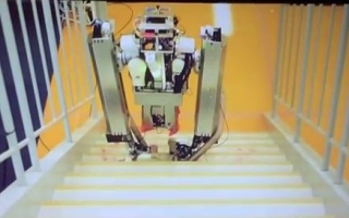 Photo: Google's two-legged robot can vacuum your stairs