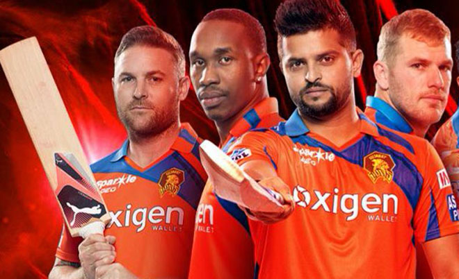 Picture courtesy Gujarat Lions/Twitter