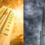 Heat is on... UAE Mercury @ 44°C; cloudy skies with likely rain today