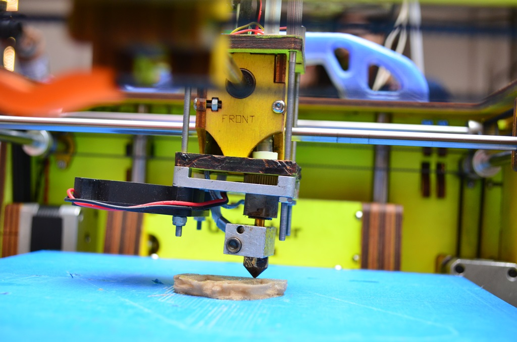 3D printing process (Supplied)