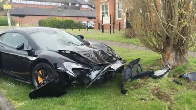 Man crashes Dh1 million McLaren supercar minutes after buying it