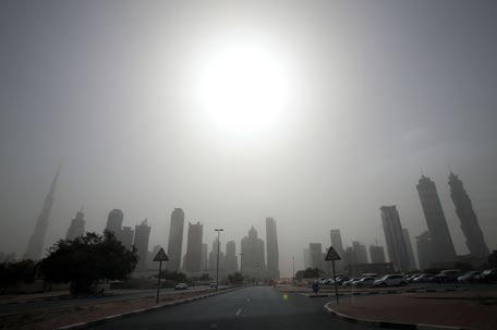 UAE weather forecast for the next five days