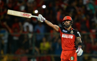 Photo: IPL DD vs RCB: Kohli steers Bangalore into Playoffs