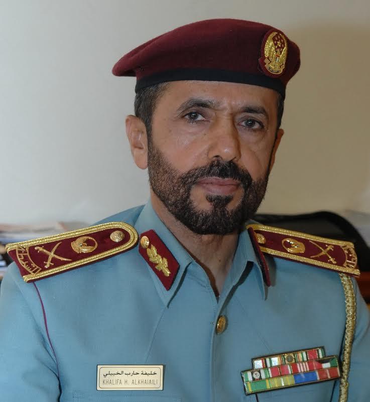Major General Khalifa Hareb Al Khaiaili