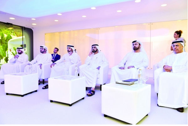 Mohammed inaugurates world's first 3D-printed office in Dubai (Al Bayan)