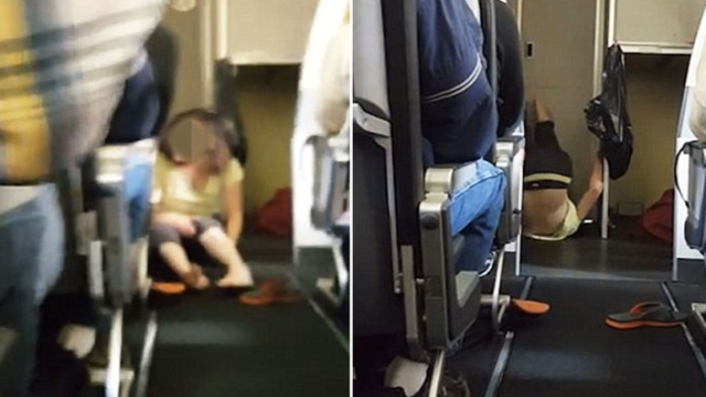Distressed passenger has meltdown on plane [video]