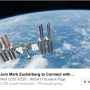 Mark Zuckerberg will take you 'live' to space via Facebook