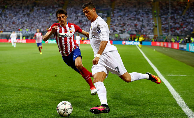 Champions League final match between Real Madrid and Atletico Madrid ...