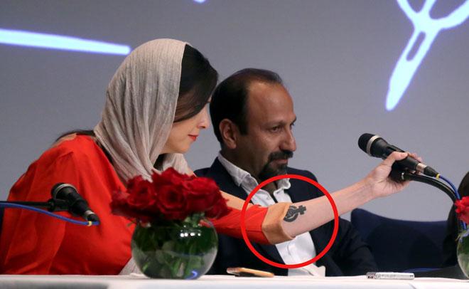 Iranian Actress Taraneh Alidoosti S Tattoo Drags Her To Social Media Storm Emirates 24 7