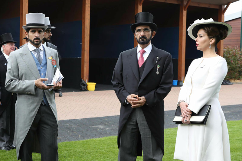 Mohammed attends epsom derby emirates 24 7 for 2b cuisine epsom downs